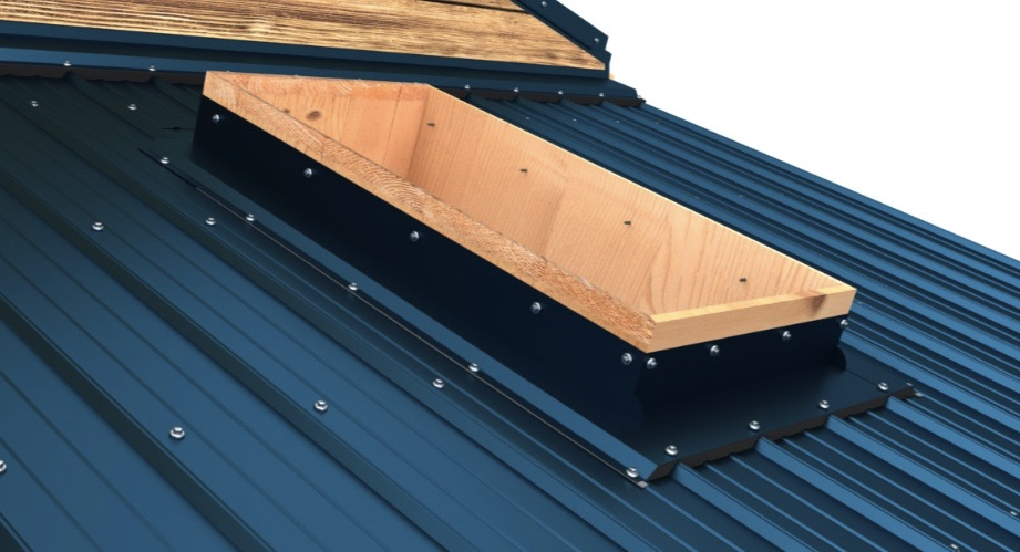 How Do You Flash Skylight Chimney And Pipe Vent Roof Penetrations On A Metal Roof