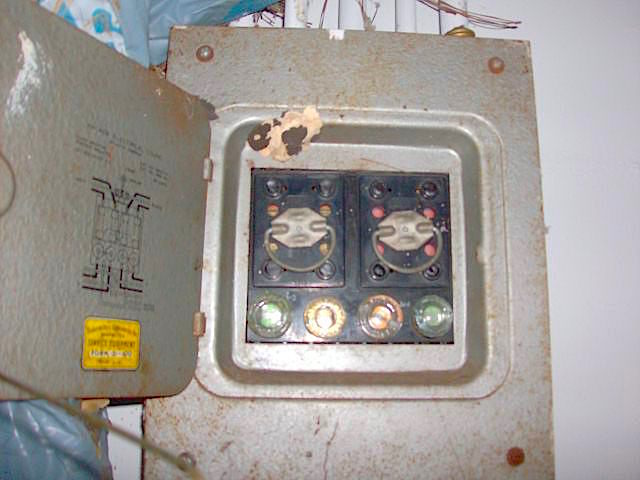 What are the code requirements for an old fuse panel/box?McGarry and Madsen Inspection